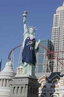 Falsa estatua de la Libertad