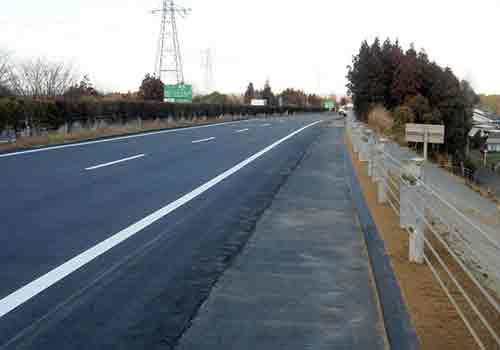 Autopista arreglada
