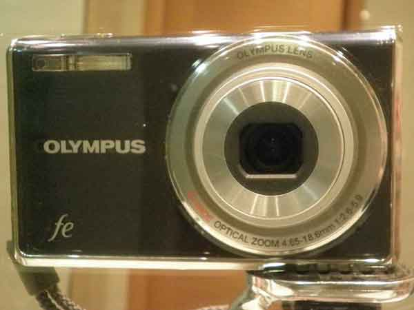 Autorretrato de una cámara de fotos