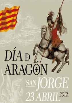 Cartel de la festividad de San Jorge