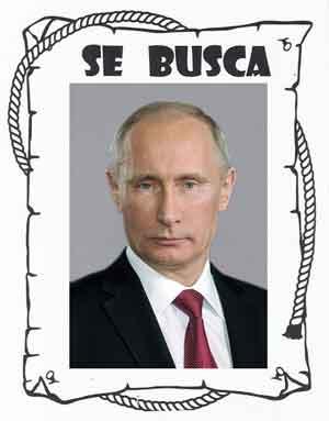 Un sospechoso llamado Vladimir Putin