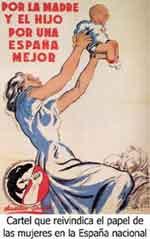 La mujer en la dictadura fascista española