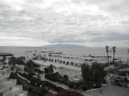 La Gomera vista desde el hotel La Niña