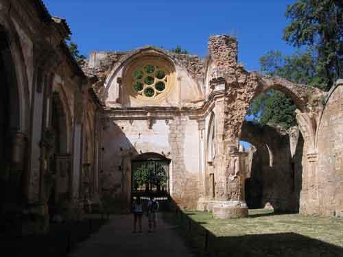 Iglesia del Monasterio de Piedra en Zaragoza Aragón