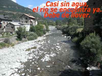 Río Ara y Mondarruego al fondo
