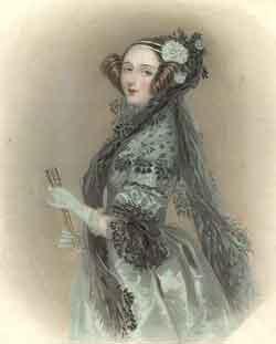 Retrato de Ada Lovelace (1838).