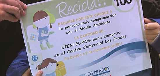 Premio por reciclar