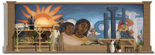 125 Aniversario del nacimiento de Diego Rivera. Cortesía del Banco de México Diego Rivera y Frida Kahlo Museums Trust / Artists Rights Society (ARS)
