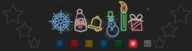 Google nos desea Felices fiestas