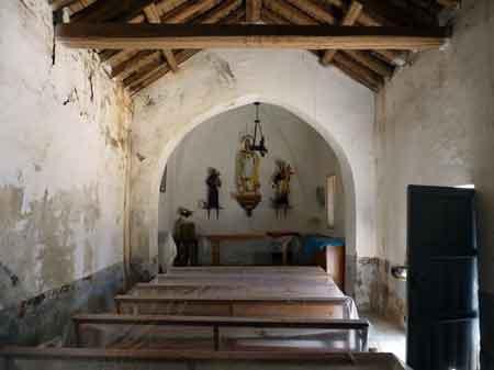 Ermita de San Clemente sin restaurar
