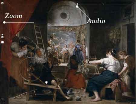 Un cuadro en alta definición del museo del Prado