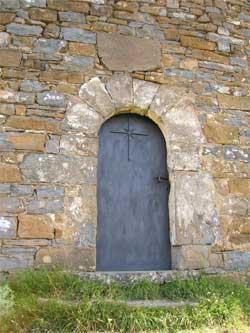 Entrada a la ermita del Morillo