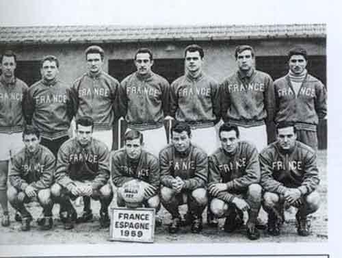 Selección francesa de fútbol en 1959