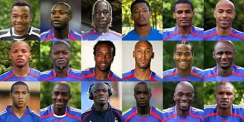 Selección francesa de fútbol en 2010