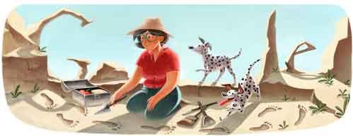 100º aniversario del nacimiento de Mary Leakey