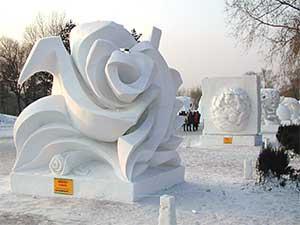 Esculturas en hielo