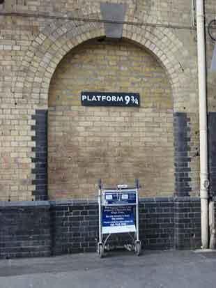 Harry Potter Platform Kings Cross