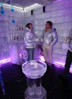 Bar de hielo en Madrid