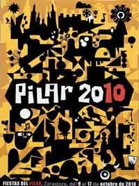 Cartel de las fiestas del Pilar 2010