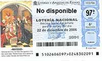 Loteria de Navidad 2006