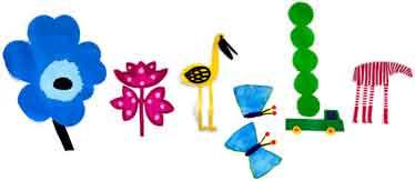 Primer día de primavera. Diseñado por Marimekko.