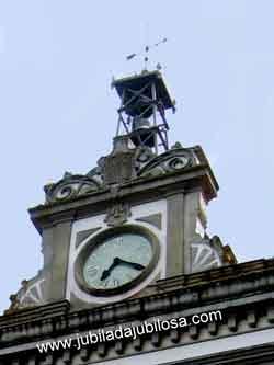 Reloj de la fábrica de Tabacos de A Coruña