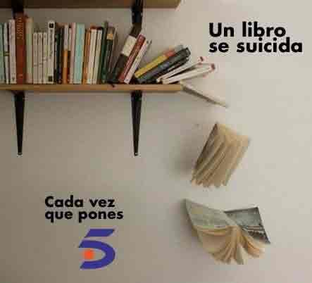 Un libro se suicida