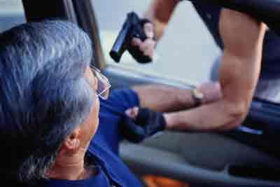 Una pareja roba un coche a punta de pistola en Bélgica