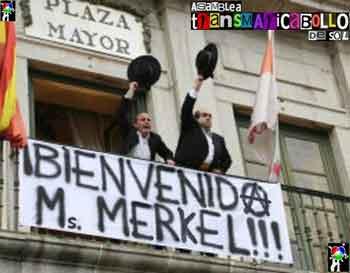 Bienvenida Ms. Merkel!!!