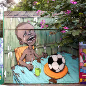 El mural que está causando furor en las redes sociales