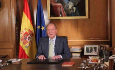 Don Juan Carlos, durante su mensaje a los españoles © Casa de S.M. el Rey