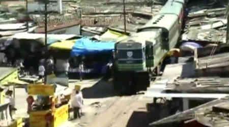 Cuidado con el tren