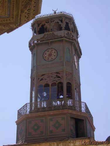 Reloj regalo de Francia a Egipto a cambio del obelisco del templo de Luxor.