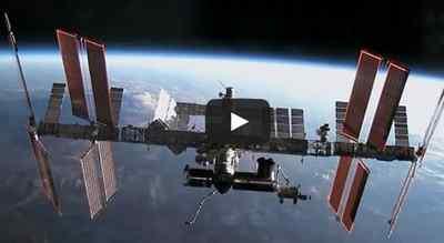 El gigantesco mensaje de una niña a su padre astronauta