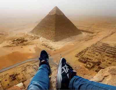 Escalando una pirámide