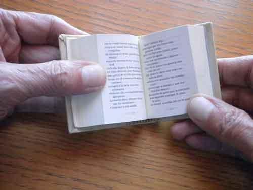 Libros pequeños