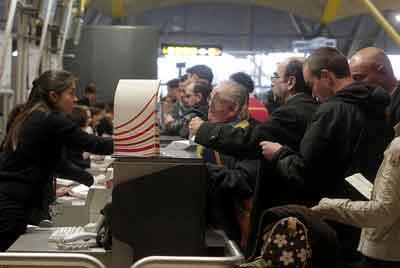 Reclamación en el aeropuerto