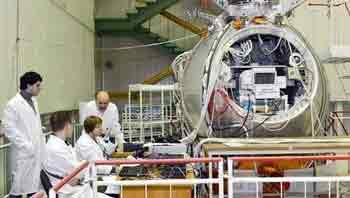 Los rusos envían un «Arca de Noé» al espacio