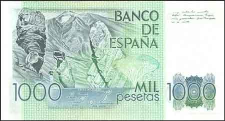 Billete de 1000 pesetas