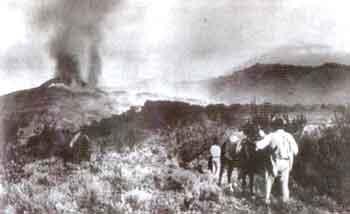 Erupción del Teide en 1909