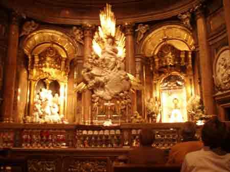 Altar de la Virgen del Pilar