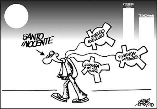 Inocentes según Forges