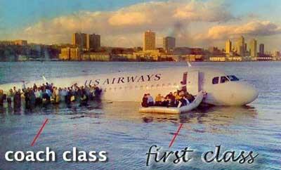 Clase primera y turista
