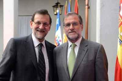 Rajoy encuentra a su 'doble' en Chile