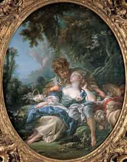 François Boucher - Confianza entre amantes