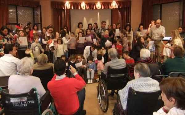 Intercambio Intergeneracional de la fundación Canfranc