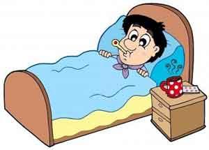 Marido en cama