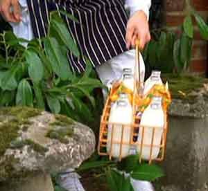 Repartidor de leche