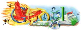 logo google Igor Stravinsky