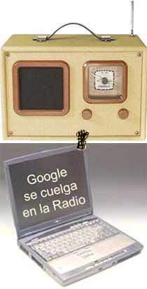 Google en la radio